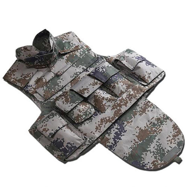 Thin Jacket Camouflage Bulletproof Vest Aramid for Police