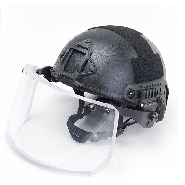 Bulletproof Glass Helmet Kevlar for Army