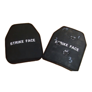 NIJ IIIA Black Tactical Bulletproof Vest Ceramic Plate